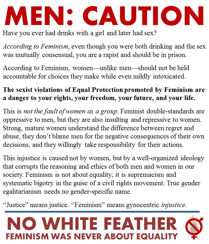 Men-Caution