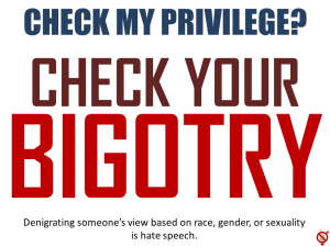 Check-Bigotry